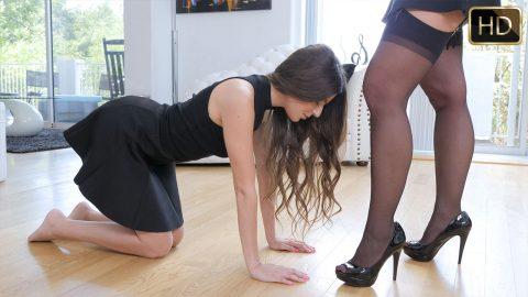 Lesbian tutor lauren phillips teaching val dodds - 2 part 3